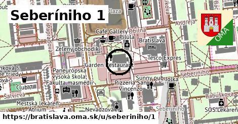 Seberíniho 1, Bratislava