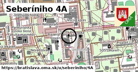 Seberíniho 4A, Bratislava