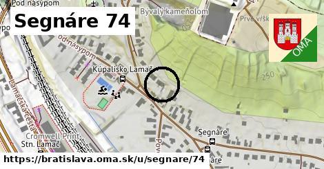 Segnáre 74, Bratislava