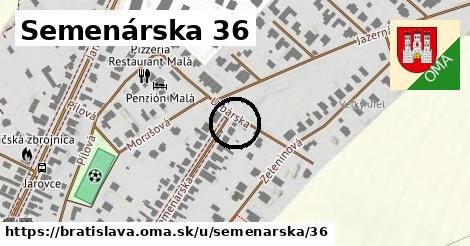Semenárska 36, Bratislava