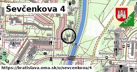 Ševčenkova 4, Bratislava