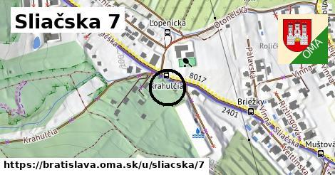 Sliačska 7, Bratislava