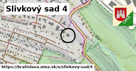 Slivkový sad 4, Bratislava