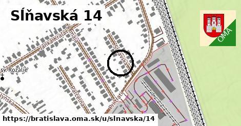 Sĺňavská 14, Bratislava