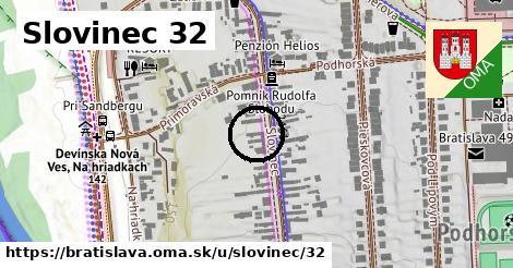 Slovinec 32, Bratislava