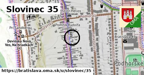 Slovinec 35, Bratislava