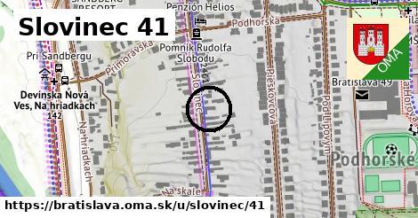 Slovinec 41, Bratislava