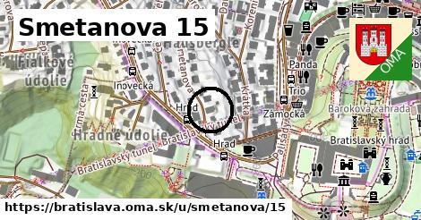 Smetanova 15, Bratislava