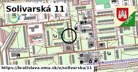 Solivarská 11, Bratislava