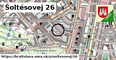 Šoltésovej 26, Bratislava