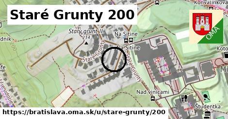 Staré grunty 200, Bratislava