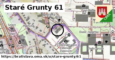 Staré Grunty 61, Bratislava