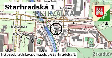 Starhradská 1, Bratislava