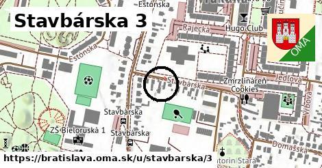 Stavbárska 3, Bratislava