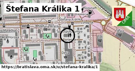 Štefana Králika 1, Bratislava