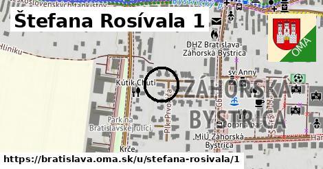 Štefana Rosívala 1, Bratislava