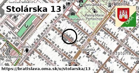 Stolárska 13, Bratislava