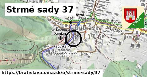Strmé sady 37, Bratislava