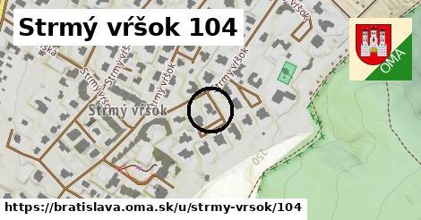 Strmý vŕšok 104, Bratislava