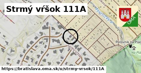 Strmý vŕšok 111A, Bratislava