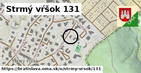 Strmý vŕšok 131, Bratislava