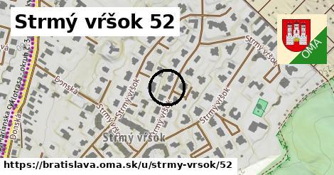 Strmý vŕšok 52, Bratislava