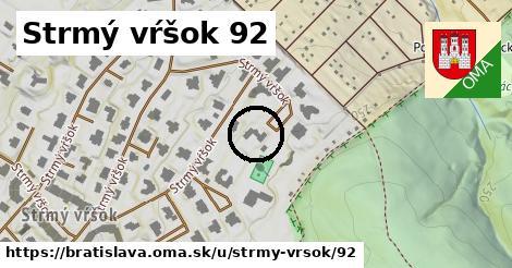 Strmý vŕšok 92, Bratislava