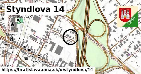 Štyndlova 14, Bratislava