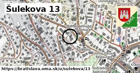 Šulekova 13, Bratislava