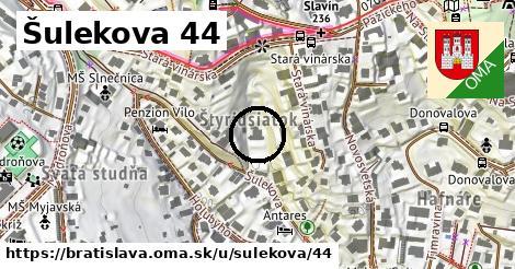 Šulekova 44, Bratislava