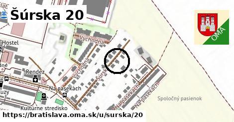 Šúrska 20, Bratislava
