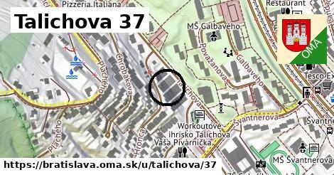 Talichova 37, Bratislava