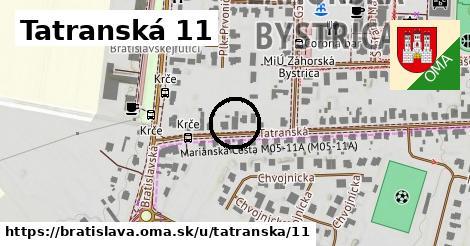 Tatranská 11, Bratislava