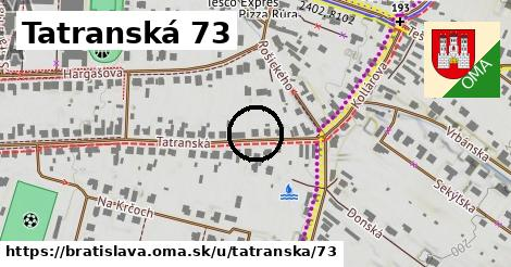 Tatranská 73, Bratislava