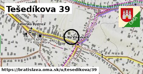 Tešedíkova 39, Bratislava