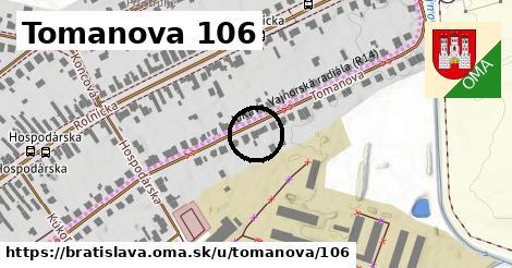 Tomanova 106, Bratislava