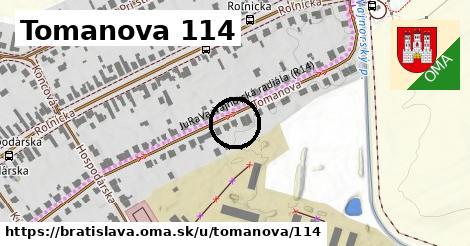 Tomanova 114, Bratislava