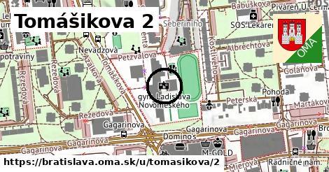Tomášikova 2, Bratislava