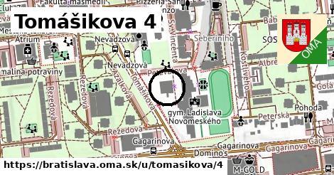 Tomášikova 4, Bratislava