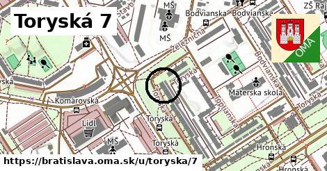 Toryská 7, Bratislava