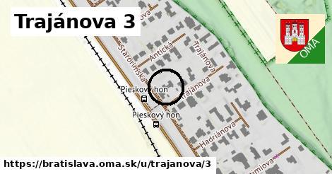 Trajánova 3, Bratislava