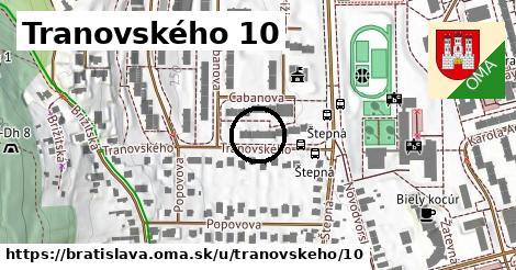 Tranovského 10, Bratislava