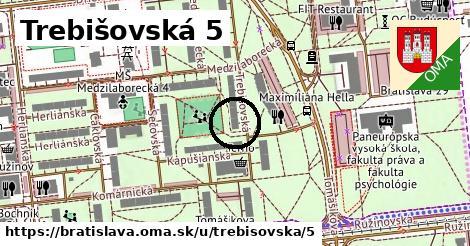 Trebišovská 5, Bratislava