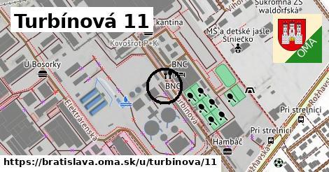 Turbínová 11, Bratislava