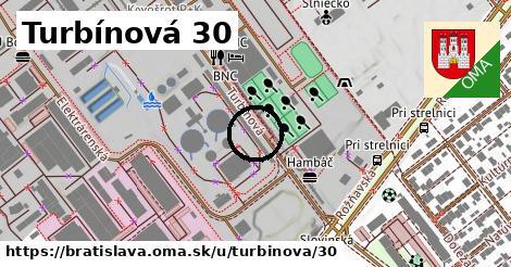 Turbínová 30, Bratislava