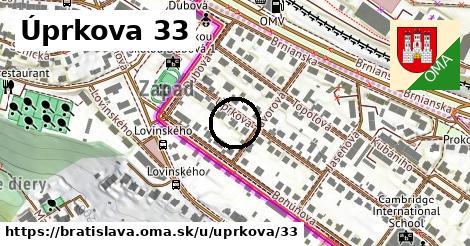 Úprkova 33, Bratislava