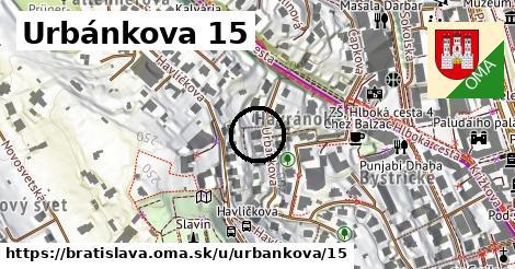 Urbánkova 15, Bratislava