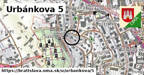 Urbánkova 5, Bratislava