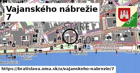 Vajanského nábrežie 7, Bratislava