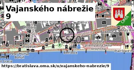 Vajanského nábrežie 9, Bratislava
